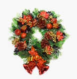 Cristmas wreath Stock Image