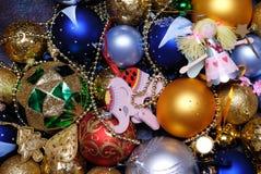 cristmasgarnering Royaltyfria Foton
