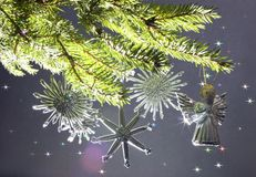 cristmastree Royaltyfri Fotografi