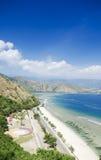 Cristo rei海滩在东帝汶 免版税库存照片