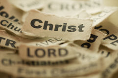 Cristo Foto de archivo