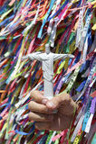 Cristo as fitas brasileiras do desejo da lembrança do redentor Imagens de Stock