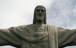 Cristo au Brésil photographie stock