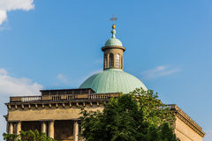 Cristo Catedral do rei em Katowice Imagens de Stock Royalty Free