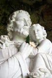 Cristo con el niño Fotografía de archivo libre de regalías