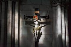 Cristo crucificado foto de stock