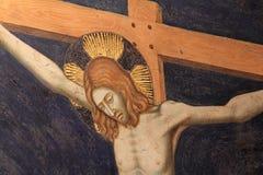 Cristo crucificado Fotografía de archivo libre de regalías