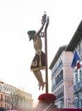 Cristo de Los Alabarderos, στην πομπή της ιερής εβδομάδας σε τρελλό Στοκ Εικόνες