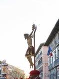 Cristo de los Alabarderos, в шествии святой недели в сумашедшем Стоковое Изображение RF