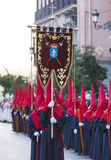 Cristo de los Alabarderos, в шествии святой недели в сумашедшем Стоковая Фотография RF