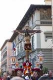 Cristo de los Alabarderos, в шествии святой недели в сумашедшем Стоковые Изображения RF