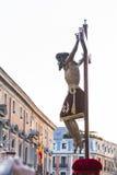 Cristo de los Alabarderos, i processionen av den heliga veckan i tokigt royaltyfri bild
