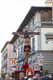 Cristo de los Alabarderos, in the procession of Holy Week in Mad Royalty Free Stock Photography