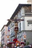Cristo De Los Alabarderos w korowodzie Święty tydzień w Szalenie, Fotografia Royalty Free