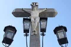 Cristo de los Faroles in Córdoba Royalty Free Stock Photo