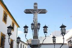 Cristo de Los Faroles im CÃ ³ rdoba Lizenzfreie Stockbilder
