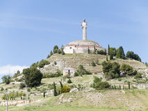 Cristo del Otero, Palencia, Spain Stock Photo