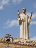 Cristo del Otero, Palencia, Spain Royalty Free Stock Photos