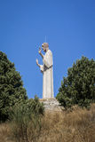 Cristo del Otero in Pelencia, Spain Stock Photos