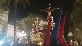 Cristo della scadenza, immagini di settimana santa archivi video