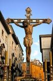 Cristo dos espelhos por Cuenca imagem de stock
