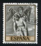 Cristo ed angelo da Alonso Fotografia Stock Libera da Diritti