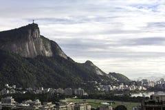 Cristo el redentor, Río de Janeiro, el Brasil Fotos de archivo