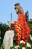 Cristo el rey Foto de archivo libre de regalías