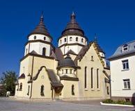 Cristo el rey Church Ucrania Imagen de archivo libre de regalías