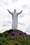 Cristo el rey, Swiebodzin Imagen de archivo libre de regalías