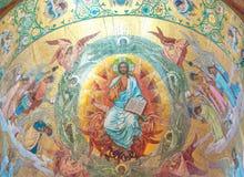 Cristo en gloria Imagenes de archivo