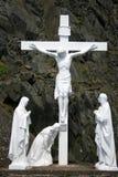Cristo en la cruz, Irlanda Fotos de archivo