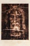 Cristo enfrenta em Tourin foto de stock royalty free