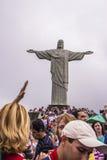 Cristo il redentore - Rio de Janeiro - Brasile Fotografia Stock
