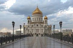 Cristo la catedral del salvador imagen de archivo
