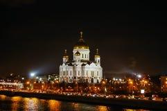Cristo la cattedrale del salvatore a Mosca immagini stock