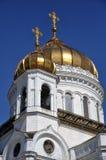 Cristo la cattedrale del salvatore a Mosca, Russia immagini stock