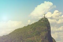 Cristo la estatua de Reedemer Imagen de archivo libre de regalías