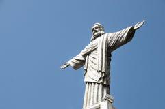 Cristo la estatua del redentor imagen de archivo libre de regalías