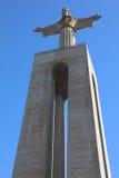 Cristo la estatua del rey en Lisboa Foto de archivo