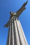 Cristo la estatua del rey en Lisboa portugal Fotografía de archivo libre de regalías