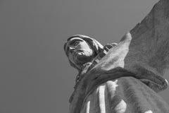 Cristo la estatua del rey en Lisboa portugal Imagen de archivo