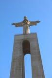 Cristo la estatua del rey en Lisboa portugal Imagen de archivo libre de regalías