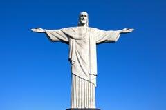 Cristo la estatua Rio de Janeiro el Brasil del redentor Imagen de archivo