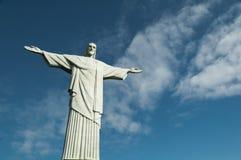 Cristo no Rio Foto de Stock Royalty Free
