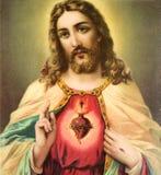 Cristo oído hablar Foto de archivo libre de regalías