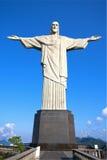 Cristo o corcovado Rio de janeiro Brasil da estátua do redentor Imagem de Stock Royalty Free
