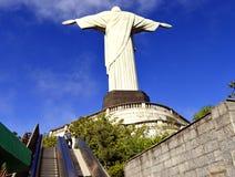 Cristo o redentor Corcovado Rio de janeiro Imagens de Stock Royalty Free