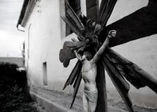 Cristo olvidado Fotos de archivo