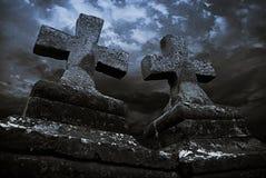Cristo-piedras medievales Fotos de archivo libres de regalías